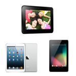 Nexus7・iPad mini・Kindle Fire HD仕様・スペック比較